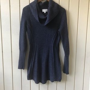 Anthro Angel of the North Cowl Neck Tunic Sweater